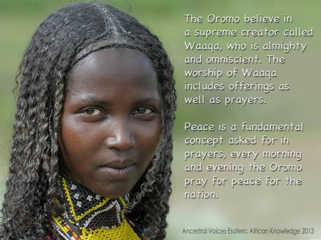 Faith of the Oromo