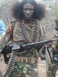Oromo soldier
