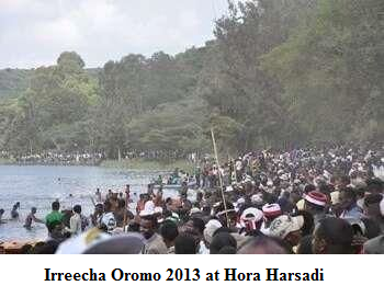 Irreecha Oromo 2013 at Hora Harsadi
