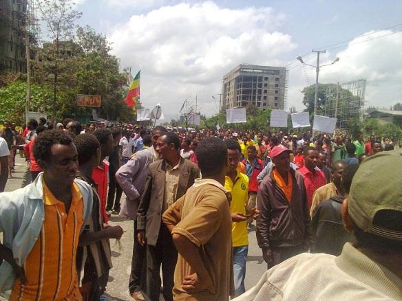 The Oromians Protest Ethiopia's New Master Plan of Ethnic