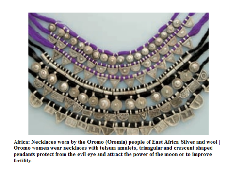 Oromo women necklaces1