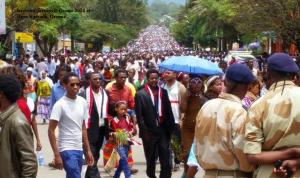 Irreecha (Irreessa) Oromo 2014 at Hora Harsadii, Oromia