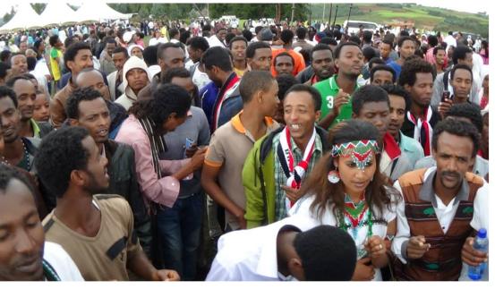 Irreecha Oromo 2014 Malkaa Ateetee, Buraayyuu, Oromia.  Suura1
