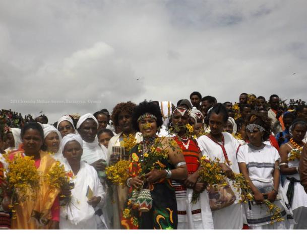 Irreecha Oromo 2014 Malkaa Ateetee, Buraayyuu, Oromia