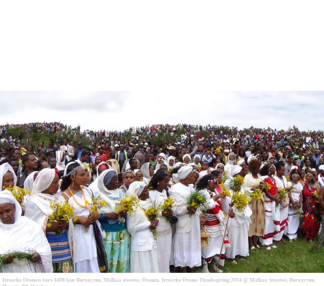 Malkaa Ateetee, Celebration of Irreecha Oromoo 2014 (6408Irreecha Oromoo bara 6408 kan Buraayyuu, Malkaa ateetee, Oromia. Irreecha Oromo Thanksgiving 2014,Malkaa Ateetee, Buraayyuu, Oromia . 9th October. Suura2