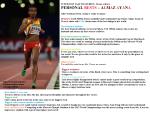 IAAF featuring AlmazAyana