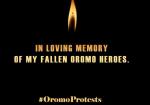 In loving memory of fallen Oromoheroes