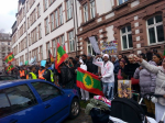 Oromians in Germany protested against OPDO Woyane visit 31st january2015