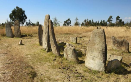 The intricately curved stones of Xayyaa (Tiya) are the marks of the Oromo Gadaa governance of 1249BC – 889BC Xayyaa era. p1