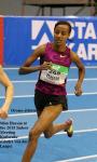 Oromo athlete Sifan Hassan at the 2015 Indoor Meeting Karlsruhe Gladys von derLaage