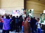 Oromo protests against OPDO TPLF agent and  say no place for murderers inAustralia