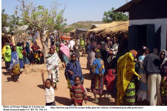 Oromo village