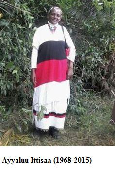 Ayyaluu Ittisaa (1968-2015)
