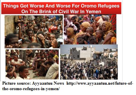 Oromo refugees in Yemen