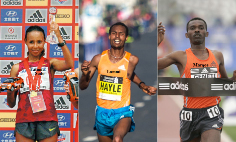 Warsaw marathon, Oromo athletes Sado and Lemi win