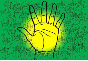 OFC MEDREK'S Election Symbol (Five Fingers with the Open Palm'High Five Goes Viral