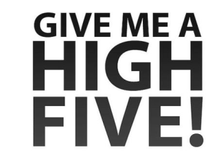 OFC MEDREK'S Election Symbol (Five Fingers with the Open Palm'High Five Goes Viral1