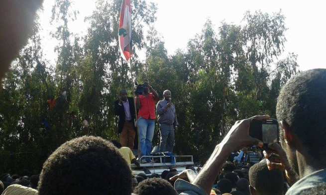 Oromo Federalist  Congress rally in a Southern Oromia town of Bule Hora Led by Baqqalaa Nagaa on 19 May 2015