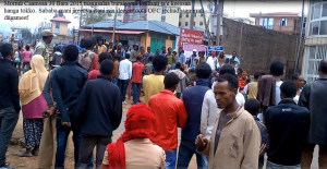 Oromo protests in Buraayyuu Oromia 30 May 2015