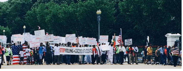 OromoProtests against genocidal TPLF Ethiopia. 19 June 2015