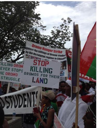 OromoProtests against genocidal TPLF Ethiopia2. 19 June 2015