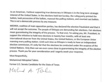 Professor Tahiro's letter1 to President Obama