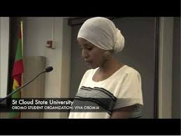 Viva Oromia, Oromo Student at St Could State University