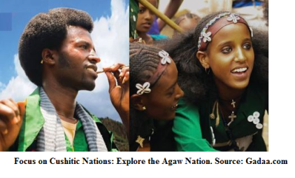Focus on Cushitic Nations, Explore the Agaw Nation