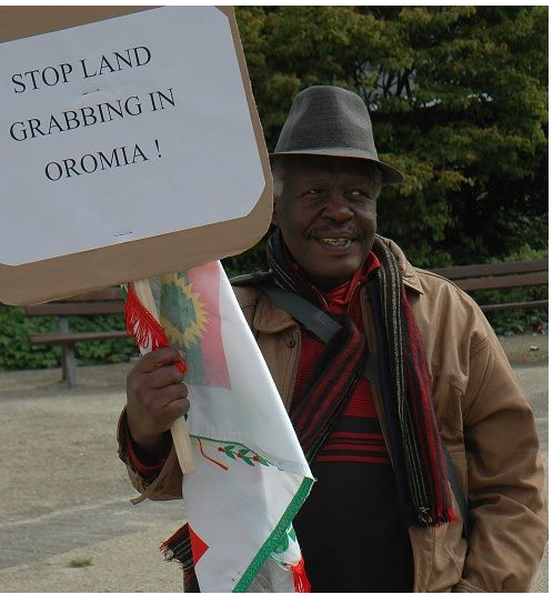 Oromians held peaceful  protests in  Brussels, Belgium against Ethiopia's genocide against Oromo  people
