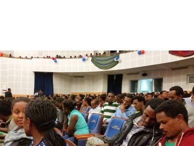 Oromo film (drama) Priemere, Dambalii opened at Waltajjii Oromoo (Oromo National Centre), Finfinnee)10