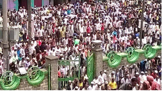 Ethiopian Muslims staged protest across the country2, 10 July 2015