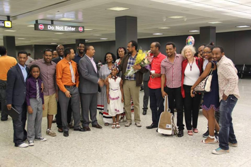Oromia's former prisoner of conscience, Bekele Gerba, warmly welcomed at Washington Dulles International Airport1
