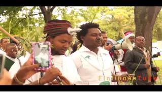 Oromo artist Jaamboo Jootee, Irreecha