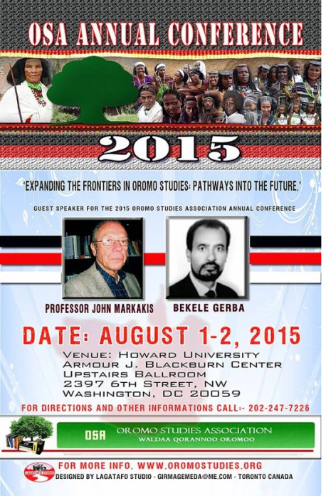 OSA Annual conference 2015