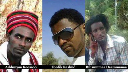 The freed Oromo university students