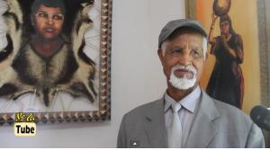 Dr. Artist Lammaa Guyyaa Gammadaa, Oromo artist (painter)