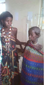 Drought, food crisis and famine in Afar state captured through social media, August 2015