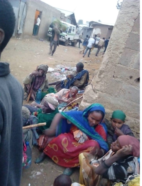 People are dying of famine in Ethiopia, Hararghe including children, mothers and adults July, August 2015 during Obama Africa visit4