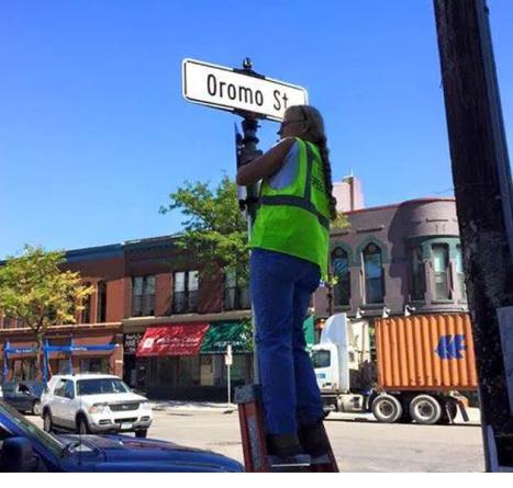 Oromo Street in Little Oromia