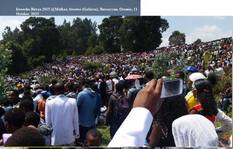 Irreecha Birraa 2015 @Malkaa Ateetee, Buraayyuu, Oromia, 11 October 2015 picture5