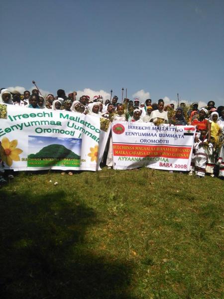 Irreecha Birraa 2015 @Malkaa Ateetee, Buraayyuu, Oromia, 11 October 2015