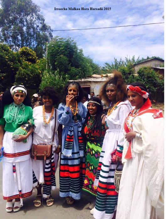 Irreecha Birraa (Malkaa Hora Harsadi, Bishoftuu Oromia, Africa on 4th October 2015 (6409 in Oromo calendar)1