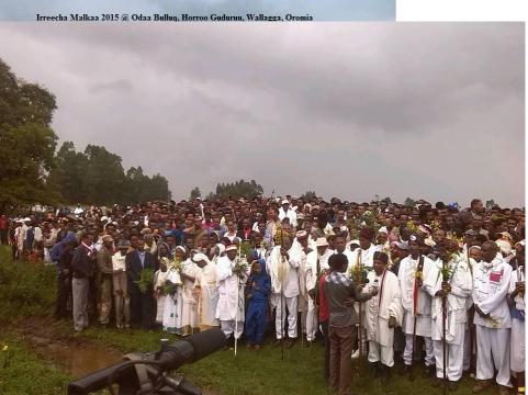 Irreecha Malkaa 2015 @Horroo Guduruu, Wallagga, Oromia, picture3