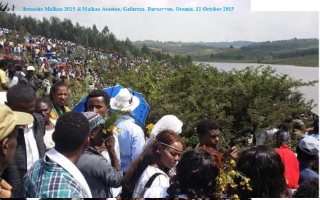 Irreecha Malkaa 2015 @Malkaa Ateetee, Gafarsaa, Buraayyuu, Oromia. 11 October 2015 picture9