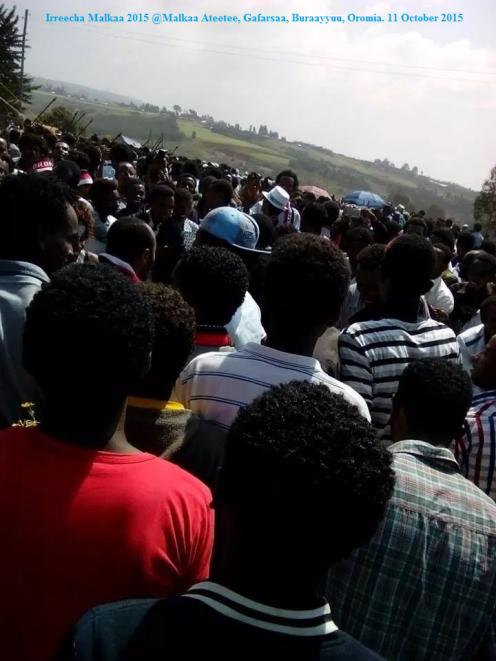 Irreecha Malkaa 2015 @Malkaa Ateetee, Gafarsaa, Buraayyuu, Oromia. 11 October 2015