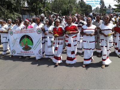 Irreecha Malkaa 2015 @Malkaa Sabbataa, Gafarsaa, Buraayyuu, Oromia. 11 October 2015
