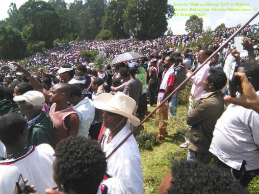 Irreecha Malkaa (Birraa) 2015 Kan Malkaa Ateetee, Buraayyuu, Oromia. Onkoloolessa (October 2015)3