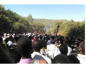 Irreecha Malkaa Oromoo kan Bara 2015 (6409 ALO) Onkoloolessa 4, Hora Harsadi.