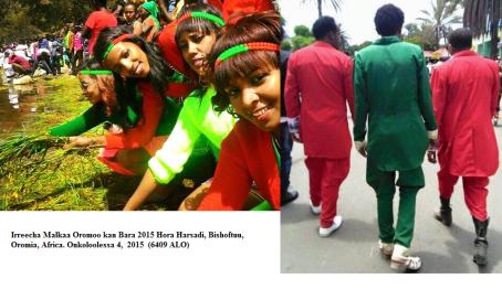 Irreecha Malkaa Oromoo kan Bara 2015 Hora Harsadi, Bishoftuu, Oromia, Africa. Onkoloolessa 4, 2015 (6409 ALO)