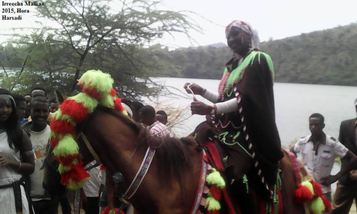 Irreecha Oromo kan Malkaa bara 2015 Hora Harsadi